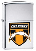 NFL, San Diego Chargers Shield (ZI20802) Category: NFL Zippo Lighters (Zippo Nfl San Diego Chargers)
