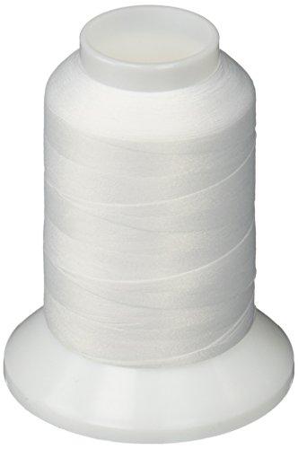 YLI 213YLIWHT Woolly Nylon Thread, 1000m, White