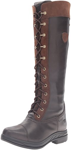 Ariat Women's Coniston Pro GTX Insulated Country Boot, Ebony, 8.5 B US