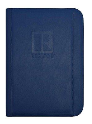 REALTOR Logo Embossed Deluxe CD Padfolio (Blue) (Cd Padfolio)