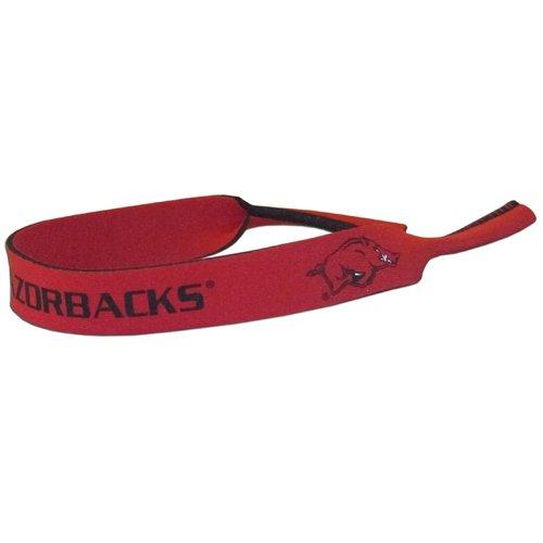 Arkansas Razorbacks Neoprene Strap Holder Croakies for Sunglasses or Eyeglasses NCAA College - Sunglasses College