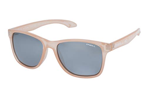 - O'Neill Offshore Polarized Square Sunglasses, Gloss Coral, 55 mm