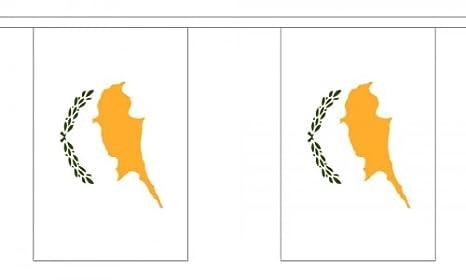 9 metros 30 (22,86 cm x 15,24 cm) de la bandera de Chipre de ...