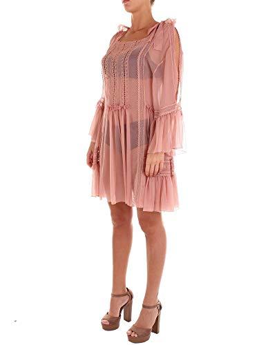 Robe Femme A046316140163 Alberta Rose Ferretti Soie wpX6q4x