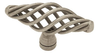 - Liberty P0528A-AP-C 64mm Large Birdcage Oval Kitchen Cabinet Hardware Knob