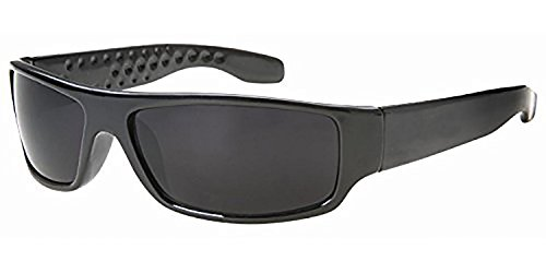 Dark Lens Locs Sunglasses 6018SD- NO - Logo Sunglasses A
