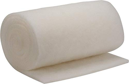 Made in USA 65 Long x 33 Wide x 3//4 Thick Synthetic Air Filter Media Roll MERV 4 72/% Arrestance Efficiency 7 Pack