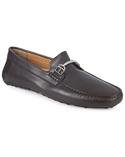 Bally Leather Loafers - BALLY Drintal Leather Bit Loafers, 9.5
