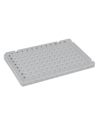 96-Well ''Fast''-type PCR Plate, Low Profile, White, 10 Plates/Unit by Olympus Plastics (Image #2)