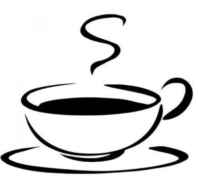 autoinchiostrante motivo: tazza di caff/è Timbro MaxStamp,/rotondo forma circolare. ideale come premio fedelt/à per i clienti di bar Dimensioni dell/'impronta: 10 mm