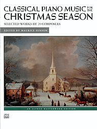 Alfred 00-23223 Classical Piano Music for the Christmas Season