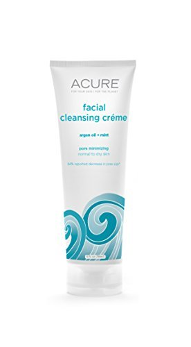 ACURE Facial Cleansing Creme - 4 oz - Argan Oil + Mint by Acure