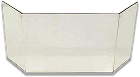 Glasscheibe komplett passend f/ür Kaminofen Topas Elba Esagon von Eurotherm Kaminglasscheibe Ersatzglas hitzebest/ändig