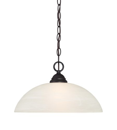 Designers Fountain 85132-ORB Kendall Down Pendant, Oil Rubbed Bronze by Designers Fountain (Orb Down Pendant)