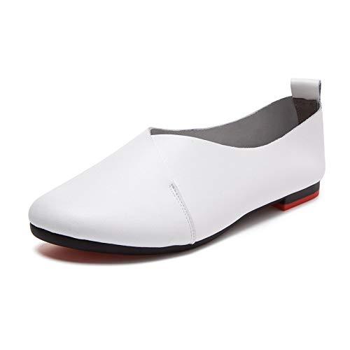 Blanc Blanc 40 Chaussures couleur Taille Eu Qiusa wHqaP16U