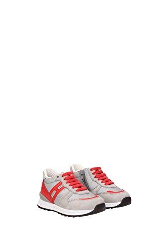 Hogan Sneakers Rebel Junge - Stoff (HXT2610Q9009NR) EU Grau