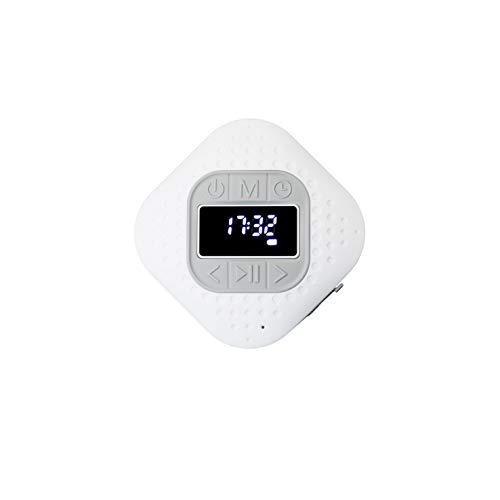 Lenco BAR-013 Bluetooth V.5 douche radio – IPX4 Bluetooth luidspreker – handsfree functie – zuignap – PLL FM…