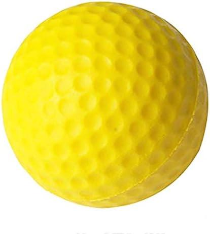 kilofly Pack of 36 48 60 Safe Practice Golf Ball Yellow Foam