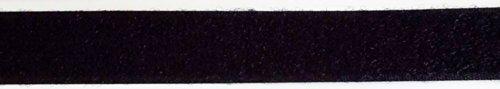 Klettband zum Nähen Flausch schwarz 20mm