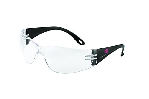 Caterpillar Jet 100 Safety Eyewear, Clear Lens, Anti-Scratch Protection, Designed for Small Faces, Ultra Lightweight Design for Added - Eyewear Caterpillar