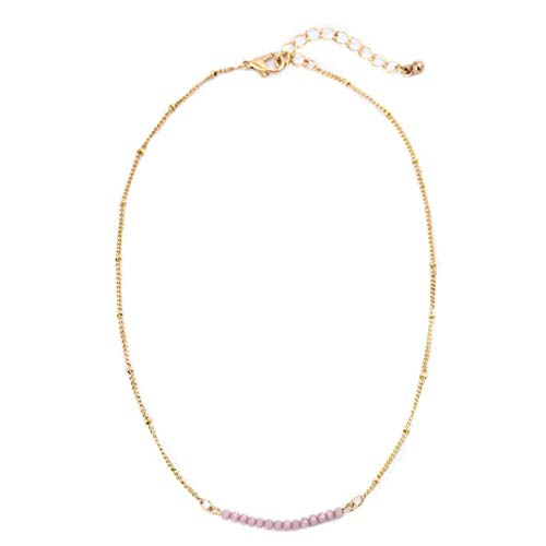 CARMELA HILL WILLIAMS Necklaces Fashion Gold Color Chain Crystal Necklace for Women Jewelry Short Chockers Collar