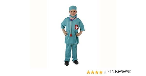 Atosa-95770 Médico Disfraz Doctor, color celeste, 3 a 4 años ...