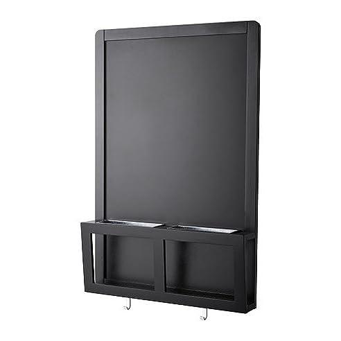 IKEA LUNS Schreib-/Magnettafel in schwarz; (48x71cm): Amazon.de ...