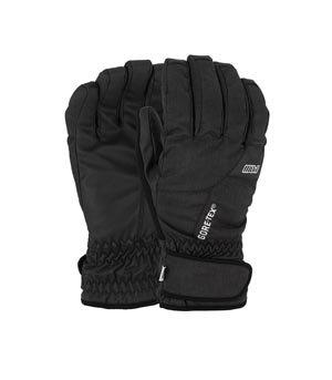 Pow Warner Gore-TEX Short Gloves, Black, Medium