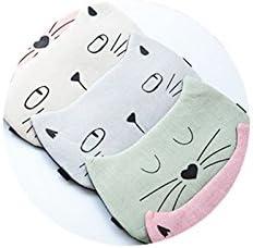 Doitsa Masques de Sommeil Kawaii Mignon Masque Froid Chaud pour Les Yeux Multifonctionnel Bandeau Yeux Nuit Soulager la Fatigue