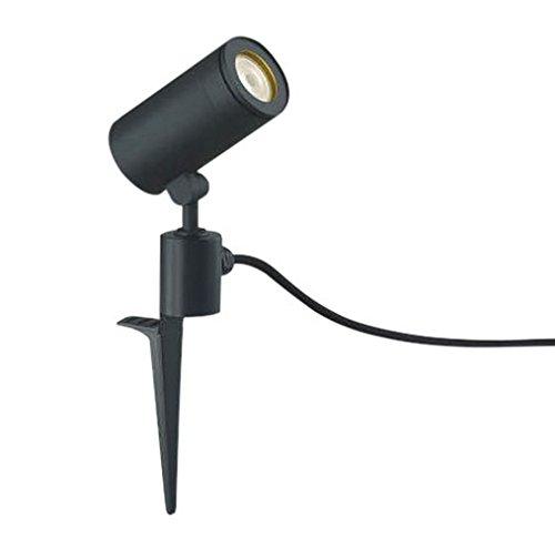 コイズミ照明 スポットライト 広角 JDR85W相当 スパイク式 黒色塗装 AU43670L B00Z51GKUI 12023