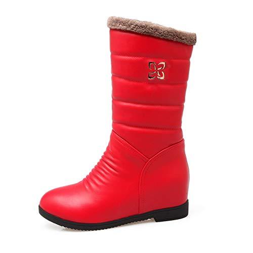 Femme Red Sandales Abl11458 Compensées Balamasa 8UwXtqf