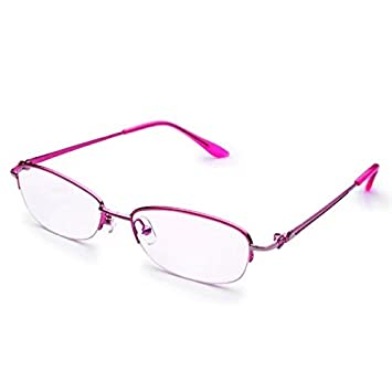 5c9a19031920 Image Unavailable. Image not available for. Color  Jcerki Half Frame  Reading Glasses Strength ...