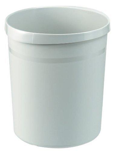 gelb extra stabil 18 Liter rund 2 Griffmulden HAN Papierkorb GRIP