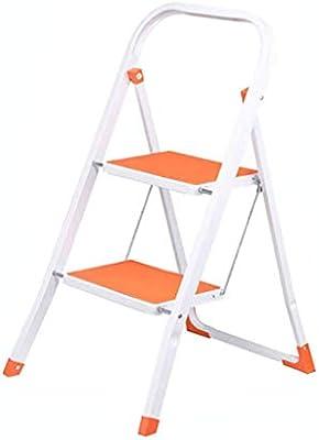 LYJBT Metal Plegable Escaleras de Seguridad de 2 peldaños ...