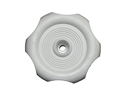 - RV Designer H717, Plastic Window Knob, 2-1/4 inch Diameter, 1 inch Shaft, White, Interior Hardware