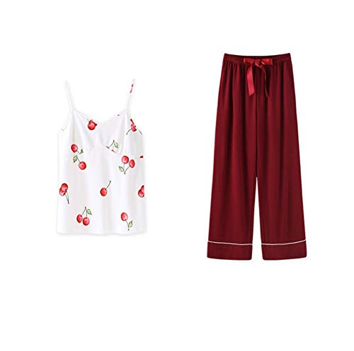 Casera Animados Piezas Mujeres Shorts Set 7 Zanzan Larga Cómodos Sling Dibujos Pijamas Las Lindos Manga Pantalones De Ropa qw6wpT0