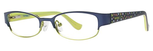 Darling Eyeglasses - KENSIE GIRL Eyeglasses DARLING Navy 46MM