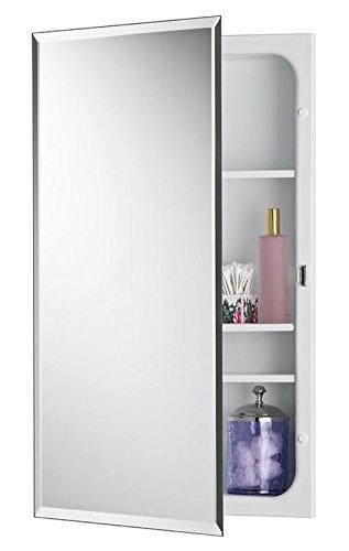 Jensen 1459MODX Bevel Mirror Medicine Cabinet, 16