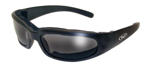 Global Vision Chicago Padded Riding Glasses (Black Frame/Smoke - What Uv400 Is Sunglasses