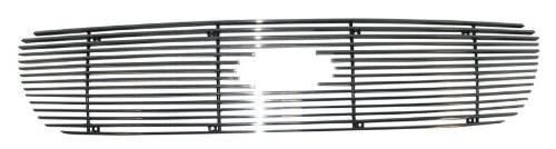 Paramount Restyling 38-0139 Overlay Billet Grille with 4 mm Horizontal Bars, 1 Piece