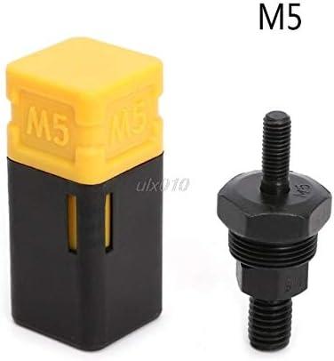 Sensese mandrino di ricambio filettato per rivettatrice a mano nero rubinetto a spirale con filettatura M3 confezione da 1, sistema britannico