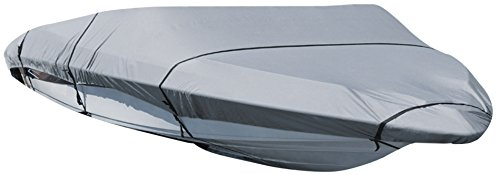 Leader Accessories Polyester Waterproof Trailerable Runabout Boat Cover Fit V-hull Tri-hull Fishing Ski Pro-style Bass Boats,Full Size (ShoreMaster, 16'-18.5'L Beam Width up to 94'')