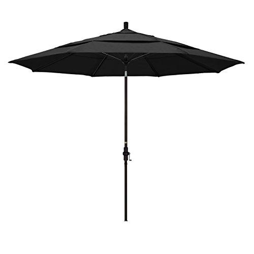 California Umbrella 11' Round Aluminum Pole Fiberglass Rib Market Umbrella