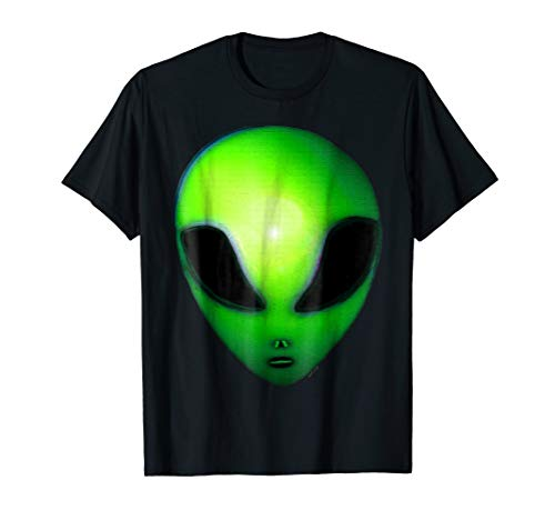 (Scary Weird Space Green Ancient Alien)
