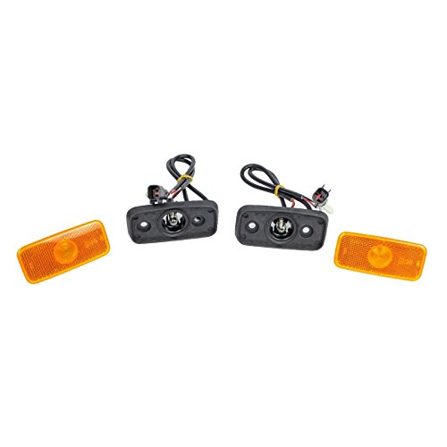 Genuine (2X) Side Marker Lamp with Wiring Loom & 1671689, VYC155034AC: