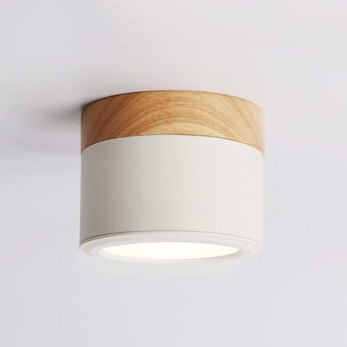 Skingk Downlight montado en la pared Nordic Creative Spotlight ...