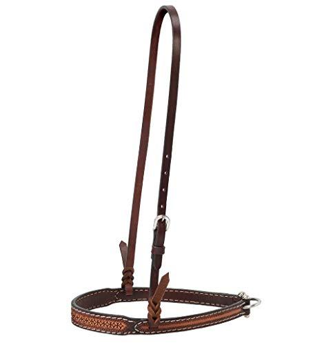 Weaver Horizons Split Reins Color:Golden Brown Size:1//2 x 8 Weaver Leather Inc.