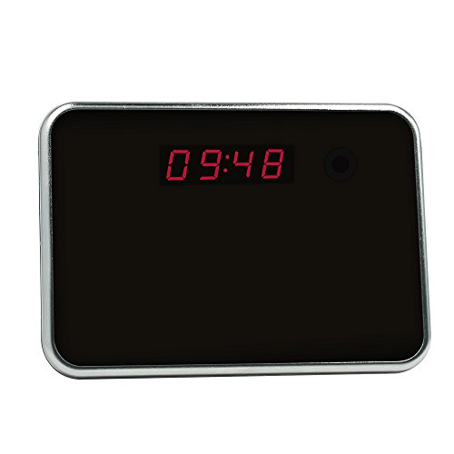 Buy cheap littleadd hidden camera clock motion detection video recording security nanny spy cam 8gb included