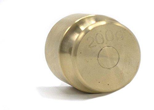 200g Balance Weight Spare - Brass - Eisco Labs (200g Weight)