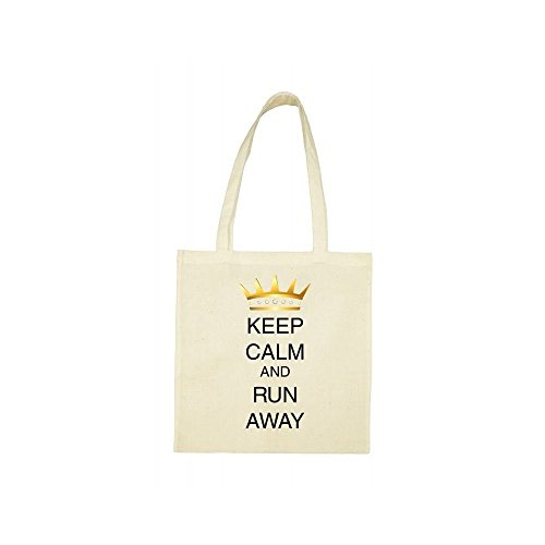 away beige run calm Tote keep bag a6Wq55nX